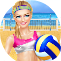 Sporty Girls: Beach Volleyball icon