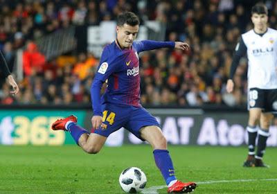 Coutinho change de numéro au Barça