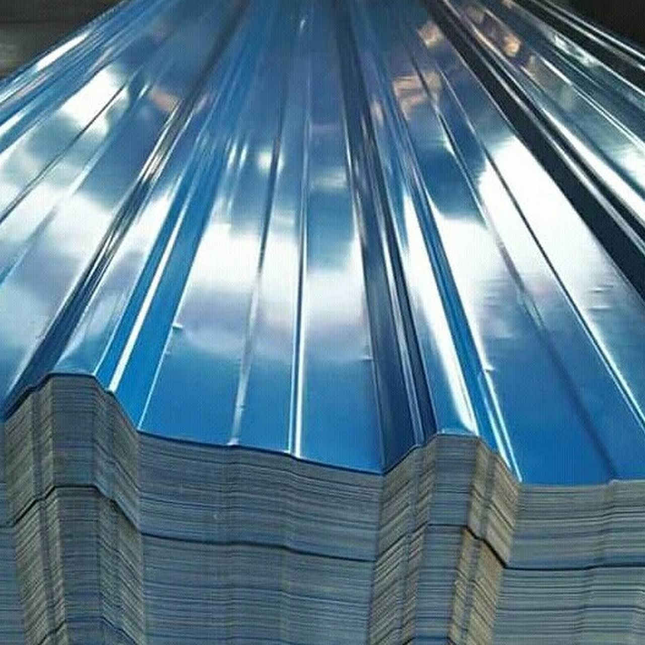 Harga Atap Spandek Warna Biru