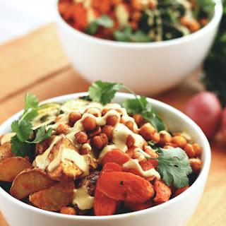 Roasted Potato & Veggie Power Bowl