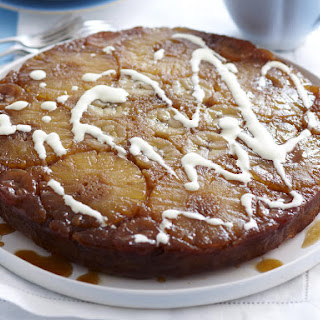 Upside-Down Pineapple Banana Cake