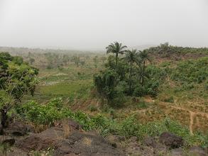Photo: Point de vue depuis la maison natale de Mgr Ignace Canton de Baga