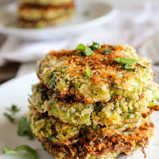 Brussels Sprout Fritters.