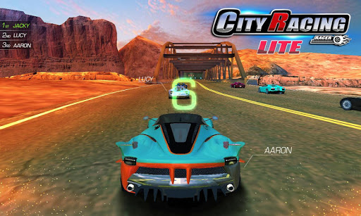 City Racing Lite screenshot 8