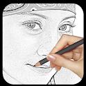 Pencil Sketch Photo icon