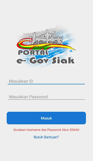 Portal e-Government Kabupaten Siak screenshots 2