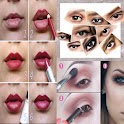 Makeup tutorials and styles icon