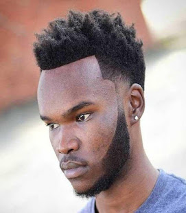 Curly Hairstyle For Black Men - náhled