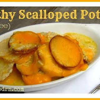Healthy Scalloped Potatoes.