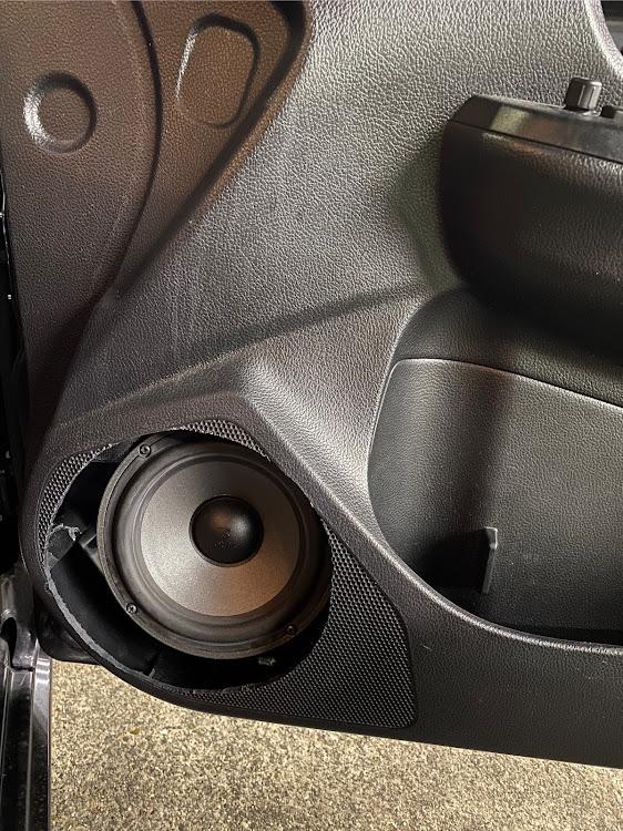 インプレッサ スポーツ GP6のオーディオ,アウターバッフル,DIY,後戻り出来ない,インナーバッフル自作に関するカスタム&メンテナンスの投稿画像2枚目