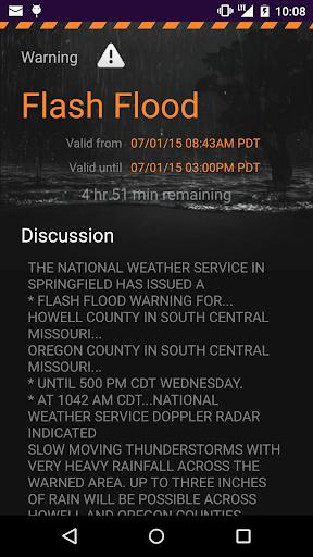 MyRadar Weather Radar Ad Free screenshot 4