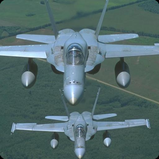 个人化の戦闘機Fで壁紙 LOGO-記事Game