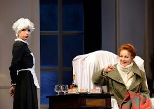 Photo: Wien/  Theater in der Josefstadt: AM ZIEL von Thomas Bernhard. Premiere am 12.3.2015. Martina Ebm, Andrea Jonasson. Foto: Barbara Zeininger.