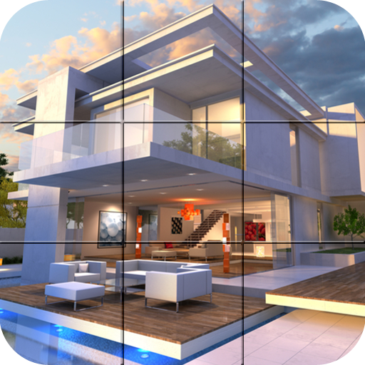 Puzzle - Modern villa file APK Free for PC, smart TV Download