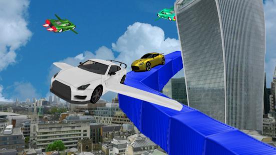Futuristic Top Flight Car : Flying 3d Simulator - náhled