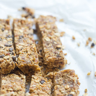 Peanut Butter Chocolate Protein Granola Bars (Vegan, GF).