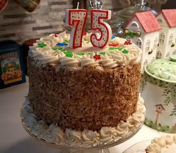 PEGGI'S ITALIAN CREAM CAKE
