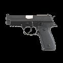 Pistol simulator icon