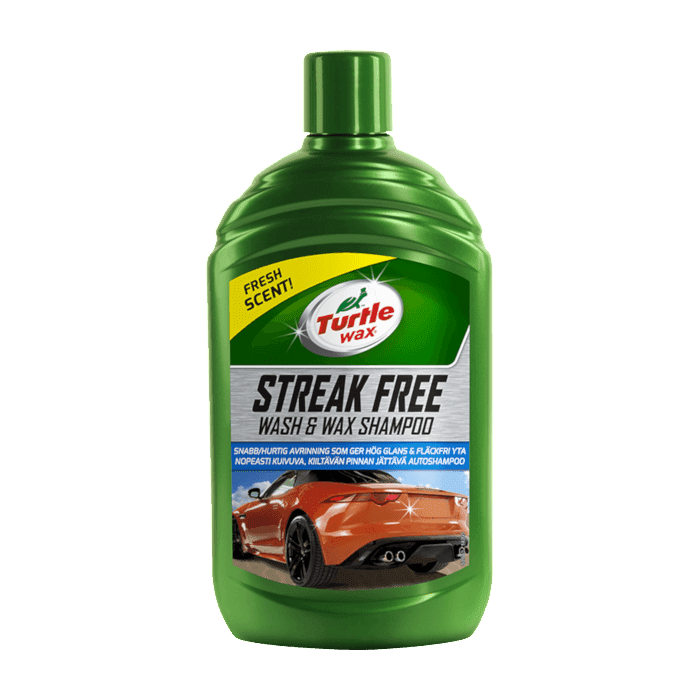 Streak Free Wash & Wax Shampoo - 500ml