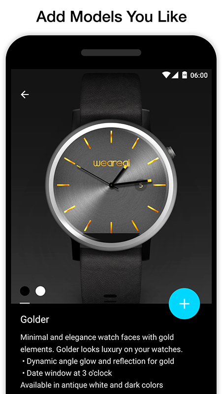 Weareal. Realistic Watch Faces- screenshot