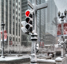 Photo: The great Chicago blizzard of 2015 #californian #snow #chicago