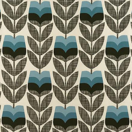Rosebud av Orla Kiely - powder blue