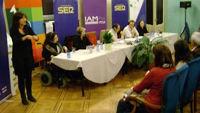 Photo: Programa especial de Radio Huesca realizado con motivo del 8 de marzo sobre el tema de Mujer y discapacidad