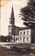Photo: Orgueil (82) - La mairie-écoles - Carte de la fin des années 1950 / début des années 60