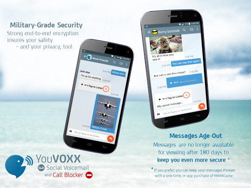 YouVOXX Voicemail, Call Blocker screenshot 14