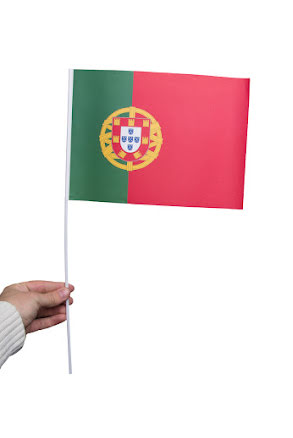 Pappersflagga, Portugal
