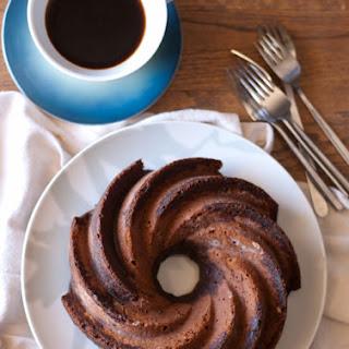 Cappuccino Bundt Cake