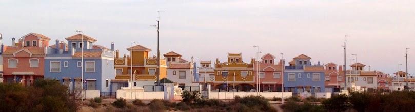 Photo: Portmeirion style houses in San Juan