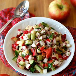 Tomato Apple Salad Recipes.