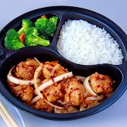 General Tso Chicken with White Rice Combo