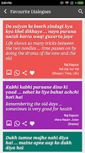 Raj Kapoor Filmy Dialogues - náhled