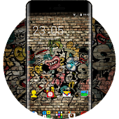 Street Graffiti Skull Theme Free Zombie Wallpaper