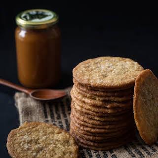 Thin & Crispy Coconut Cookies.