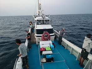 Photo: 近海半日ジギング 午前の部、スタート!