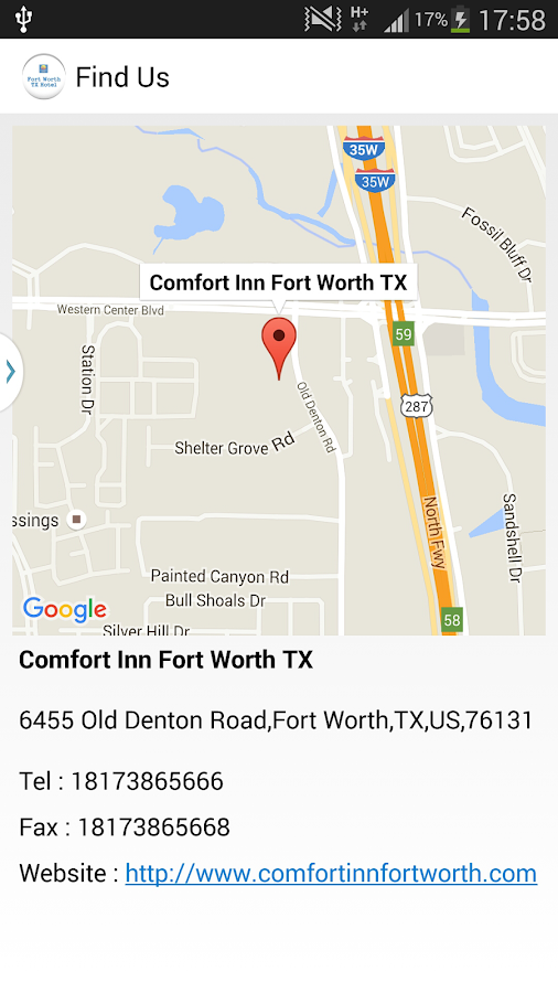 Comfort Inn Fort Worth TX- screenshot