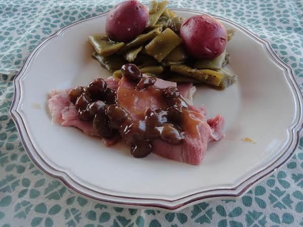 Mom's Raisin Sauce For Ham