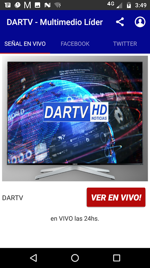 DARTV HD - Córdoba- screenshot