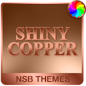 Shiny Copper Theme for Xperia Icon
