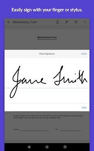 Adobe Fill & Sign DC Screenshot 12