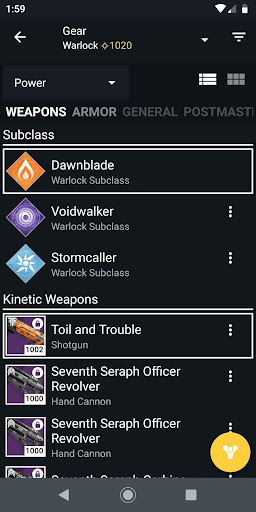 Destiny 2 Companion 13.9.1 build #774 screenshots 3