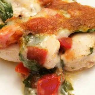 Easy Cheesy Italian Chicken.