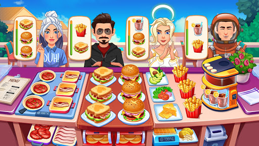 Cooking Dream: Crazy Chef Restaurant Cooking Games modavailable screenshots 3