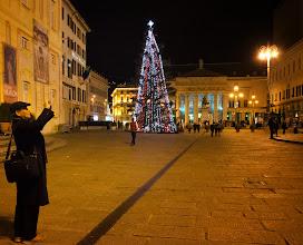 Photo: Christmas tree a the piazza Ferrari