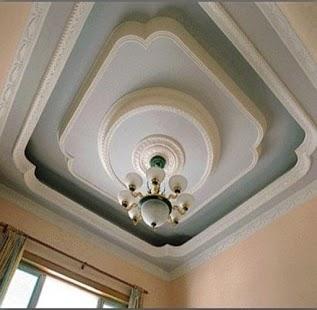 gypsum ceiling new design - náhled