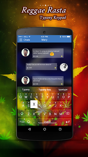 mod Reggae Rasta Typany Keyboard 4.5 screenshots 1