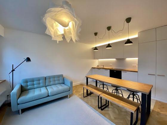 Location studio meublé 35 m2